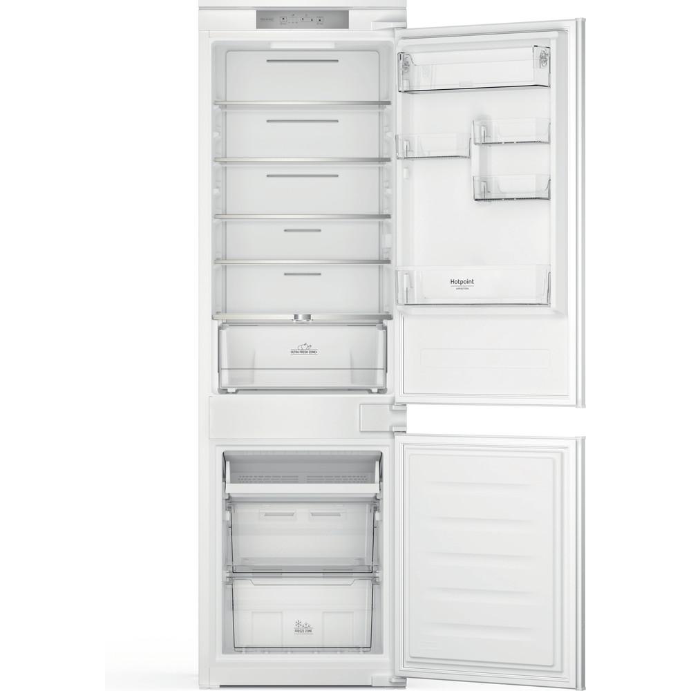 Hotpoint_Ariston Combinados Encastre HAC18 T311 Branco 2 doors Frontal open