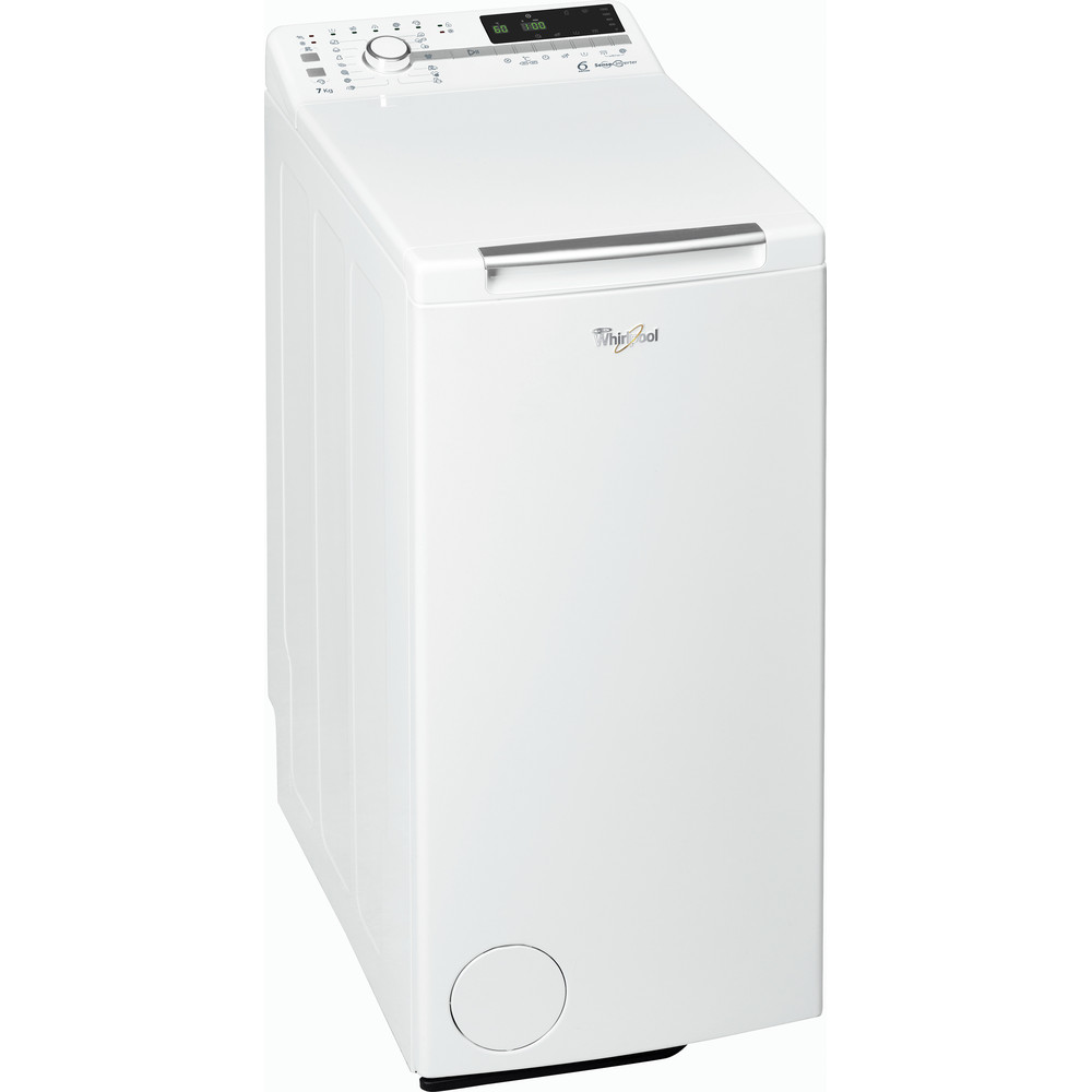 Whirlpool toppmatet vaskemaskin: 7 kg - TDLR 70221