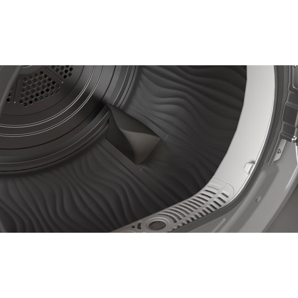 Indesit Dryer I2 D81S UK Silver Drum