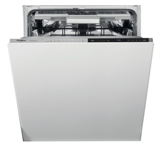Whirlpool beépíthető mosogatógép: fekete szín., normál méretű - WIP 4O33N PLE S