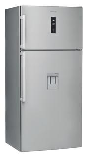 Réfrigérateur posable Whirlpool: sans givre - W84TE 72 X AQUA