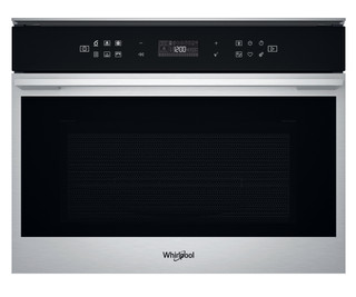 Whirlpool built in microwave oven: stainless steel color - W7 MW461 UK