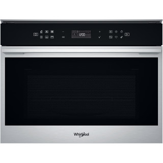 Whirlpool Microwave Built-in W7 MW461 UK Stainless Steel Electronic 40 MW-Combi 900 Frontal