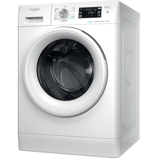Whirlpool vrijstaande wasmachine: 8,0 kg - FFBBE 8448 WEV