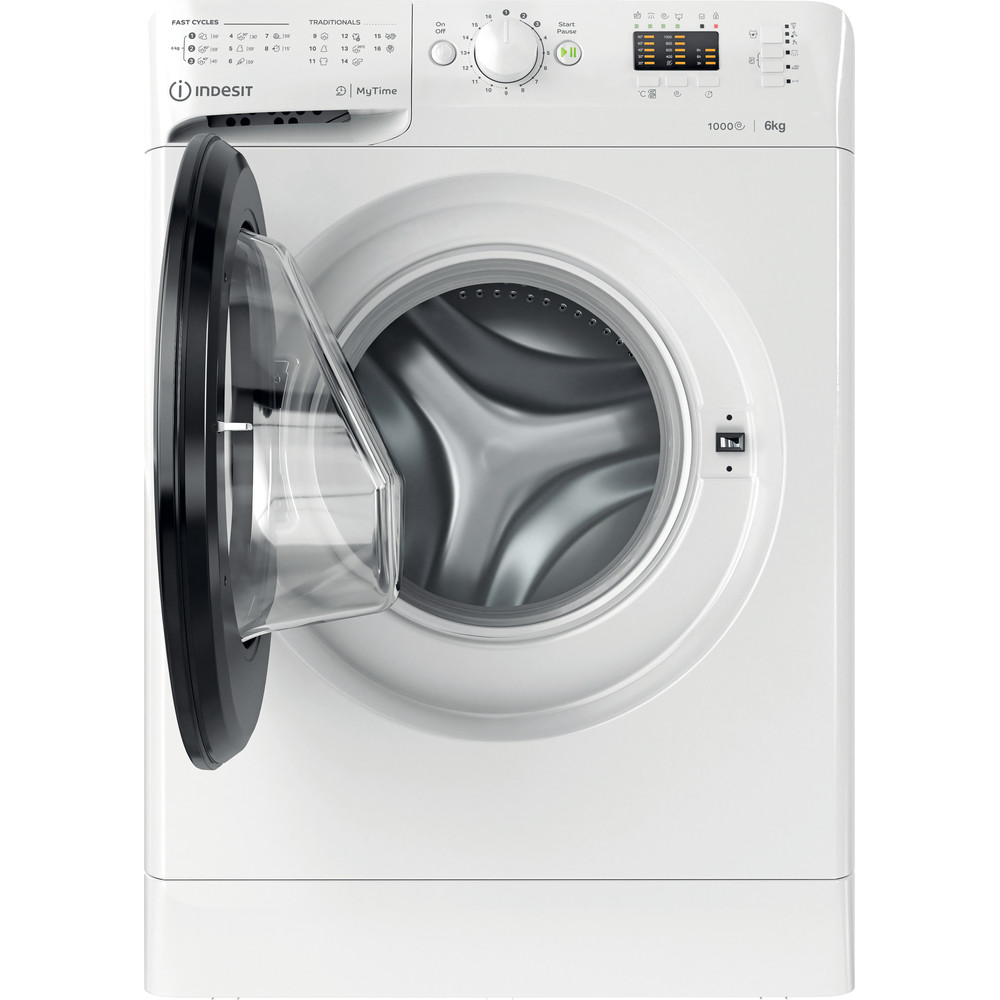 Indesit Пральна машина Соло OMTWSA 61053 WK EU Білий Front loader A+++ Frontal open