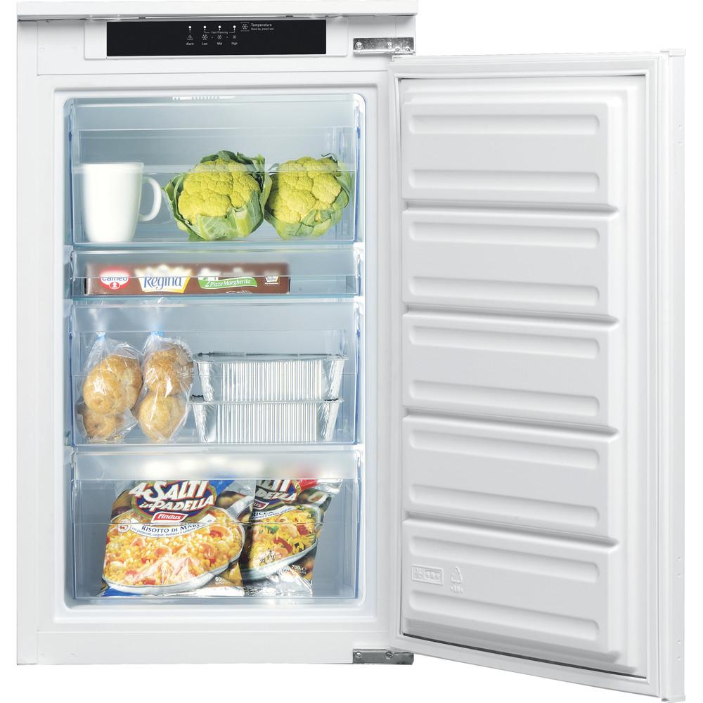 Hotpoint_Ariston Congelatore Da incasso BF 901 E AA Bianco Frontal_Open
