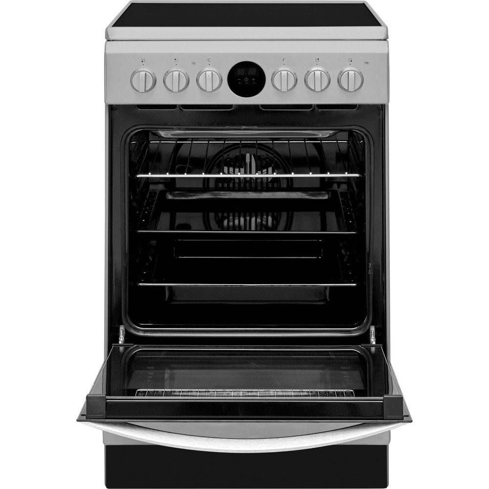 Indesit Plīts IS5V8CHX/E Inox Electrical Frontal open