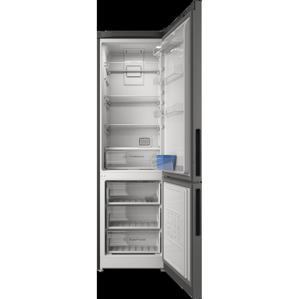 Indesit Холодильник с морозильной камерой Отдельностоящий ITR 5200 X Inox 2 doors Frontal open