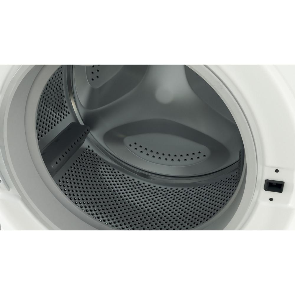 Indesit Washing machine Free-standing BWE 91683X W UK N White Front loader D Drum