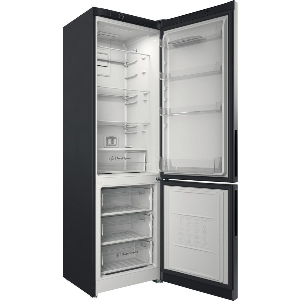 Indesit Холодильник с морозильной камерой Отдельностоящий ITR 4200 S Серебристый 2 doors Perspective open
