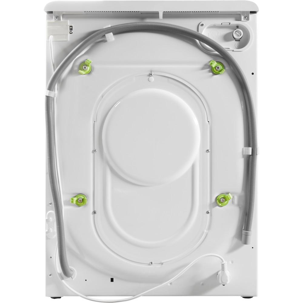 Indesit Pračka se sušičkou Volně stojící XWDA 751480X WSSS EU Bílá Front loader Back / Lateral