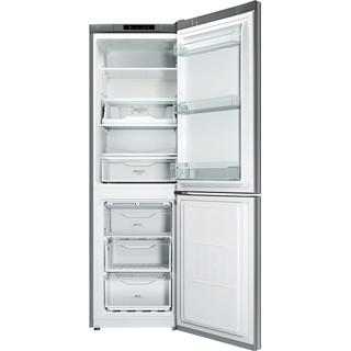 Indesit Холодильник с морозильной камерой Отдельно стоящий LI8 FF2I X Inox 2 doors Frontal open
