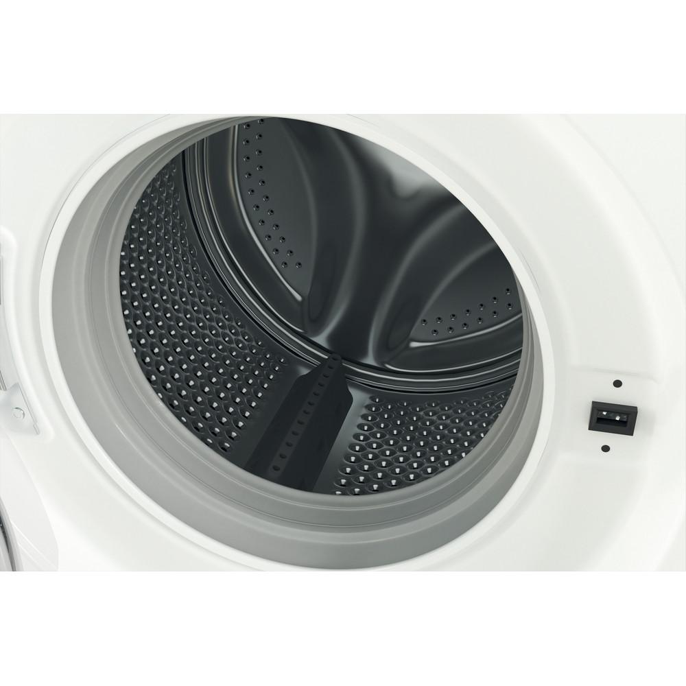 Indsit Maşină de spălat rufe Independent MTWA 91283 W EE Alb Încărcare frontală D Drum