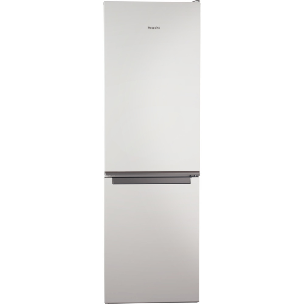 Hotpoint Fridge Freezer Free-standing H1NT 811E W 1 Global white 2 doors Frontal