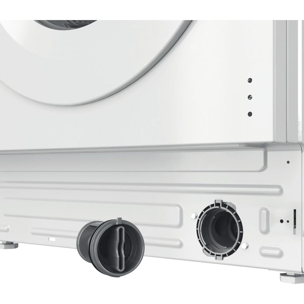 Indesit Washing machine Built-in BI WMIL 71252 UK N White Front loader E Filter