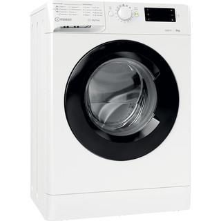 Indsit Maşină de spălat rufe Independent MTWSE 61252 WK EE Alb Încărcare frontală A +++ Perspective