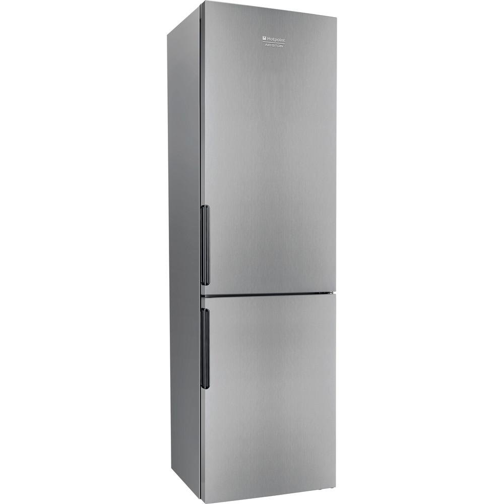 Hotpoint_Ariston Combinație frigider-congelator Neincorporabil XH9 T3U X Inox 2 doors Perspective