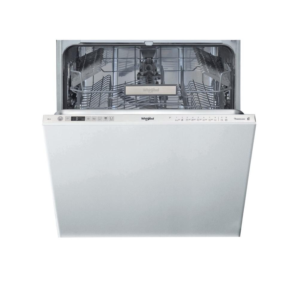 Whirlpool Astianpesukone Kalusteisiin sijoitettava WIO 3T321 P Full-integrated E Frontal