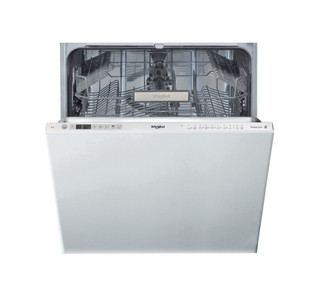 Integreret Whirlpool-opvaskemaskine: inox-farve, fuld størrelse - WIO 3T321 P
