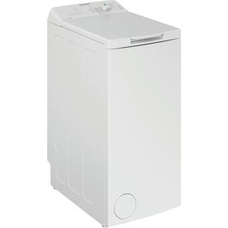 Indesit Lavabiancheria A libera installazione BTW L72200 IT/N Bianco Carica dall'altro E Perspective