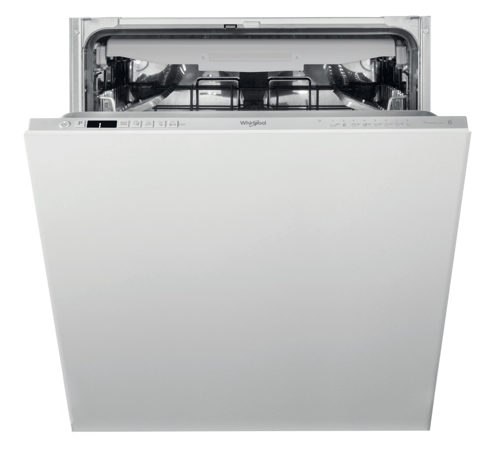 Whirlpool Dishwasher Built-in WIC 3C33 PFE UK Full-integrated D Frontal