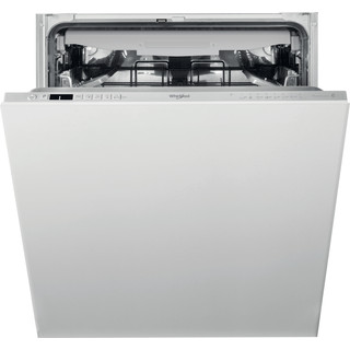 Whirlpool Integrated Dishwasher: in Silver - WIC 3C33 PFE UK