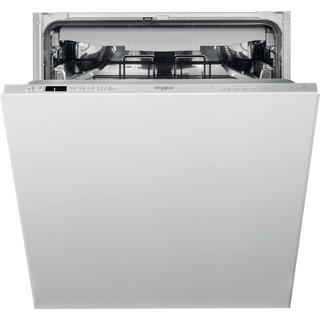 Whirlpool Integrated Dishwasher: in Silver - WIC 3C33 PFE UK