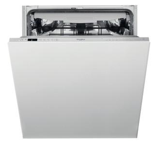 غسالة أطباق ويرلبول المدمجة: لون فضي, حجم كبير - WIC 3C33 PFE UK