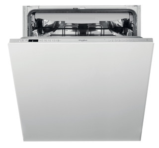 Whirlpool integrated dishwasher: silver color, full size - WIC 3C33 PFE UK