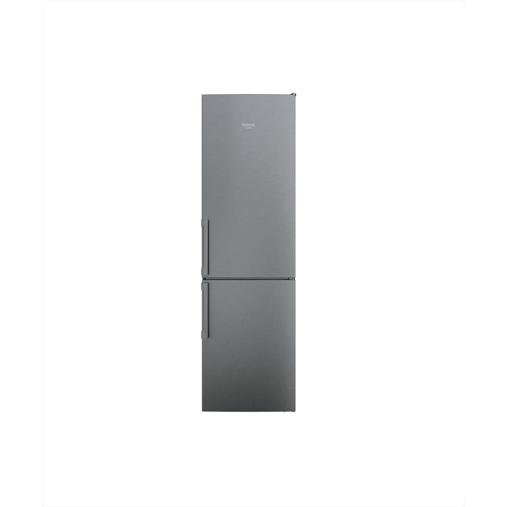Hotpoint_Ariston Combinazione Frigorifero/Congelatore Libera installazione HAFC9 TA33SX H O3 Saturn Steel 2 porte Frontal