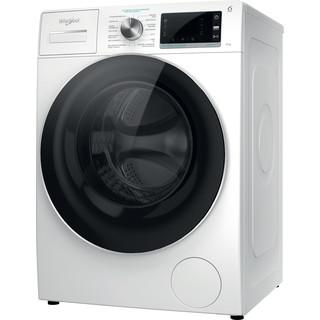 Whirlpool Máquina de lavar roupa Independente com possibilidade de integrar W6 W845WR SPT Branco Carga Frontal B Perspective