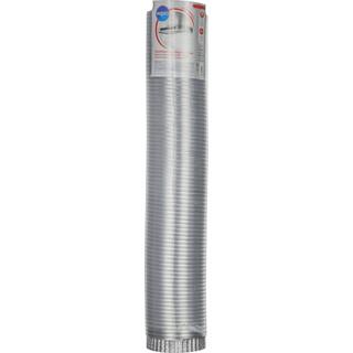 Aluminium venting duct hose - 3 m