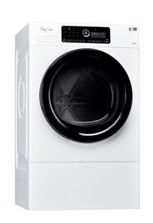 Whirlpool heat pump tumble dryer: freestanding, 10kg - HSCX 10444