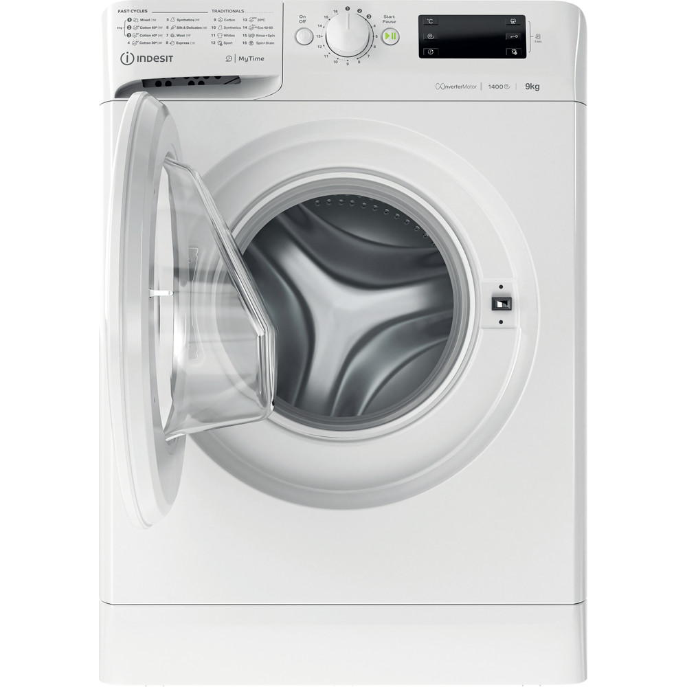 Indesit Washing machine Free-standing MTWE 91483 W UK White Front loader D Frontal open