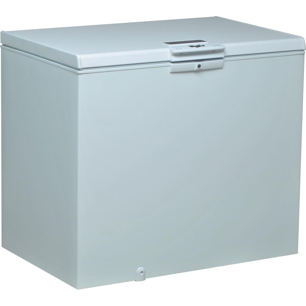 Congelador horizontal de libre instalación Whirlpool: color blanco - WHE2535 F