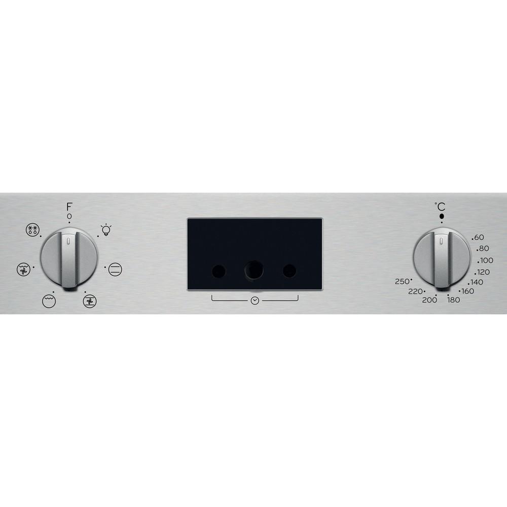Indesit Духові шафи Вбудований (-а) IFW 55Y4 IX Електрична A Control panel