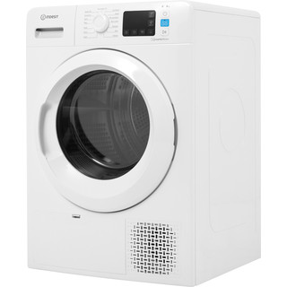 Indesit Dryer YT M11 82 X UK White Perspective