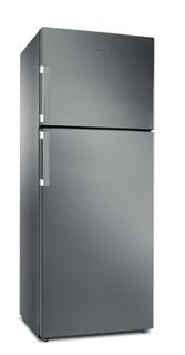 Réfrigérateur double porte posable Whirlpool: sans givre - W7TI 8711 NFX EX