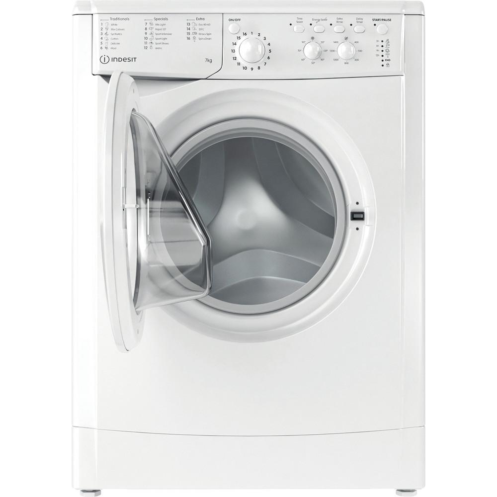 Indesit Washing machine Free-standing IWC 71452 W UK N White Front loader E Frontal open