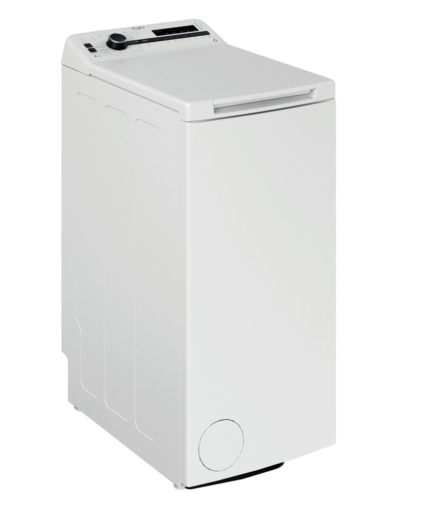 Whirlpool Washing machine Samostojni TDLRB 6230SS EU/N Bela Top loader D Perspective