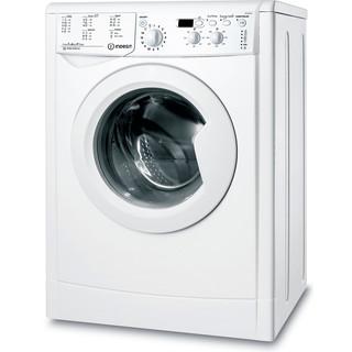 Indesit Стиральная машина Отдельно стоящий IWSD 60851 C ECO EU Белый Front loader A+ Perspective
