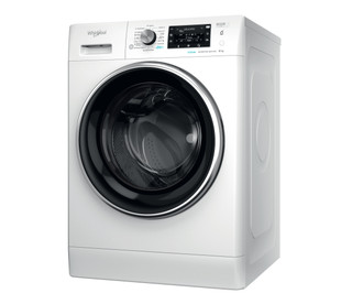 Whirlpool szabadonálló elöltöltős mosógép: 8,0kg - FFD 8458 BCV EE