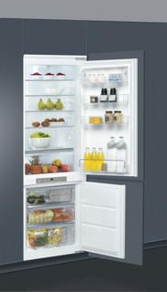 Kalusteisiin sijoitettava Whirlpool jääkaappipakastin: huurtumaton - ART 890/A++/NF