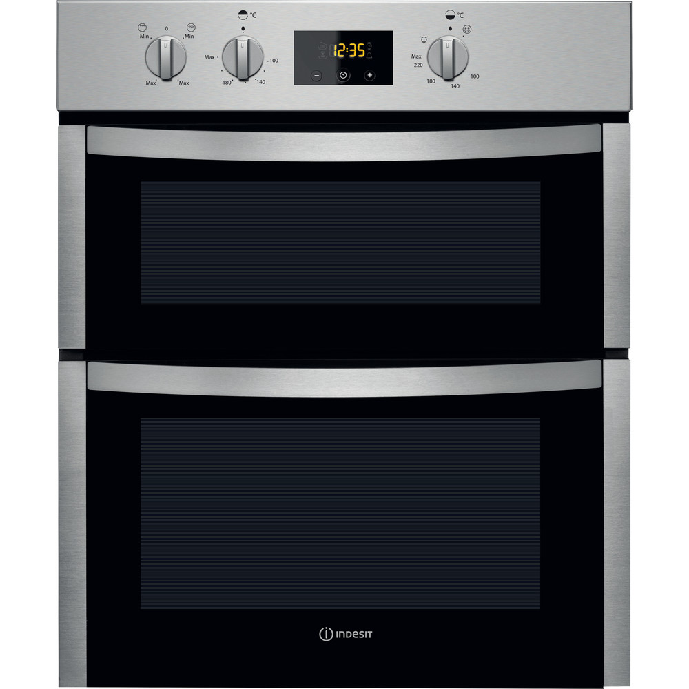 Indesit Double oven DDU 5340 C IX Inox B Frontal