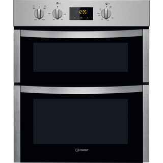 Indesit Double oven DDU 5340 C IX Inox B Frontal