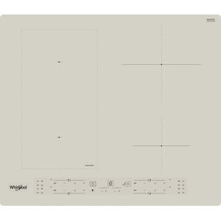Whirlpool Plīts virsma WL B6860 NE/S Smilškrāsas Induction vitroceramic Frontal