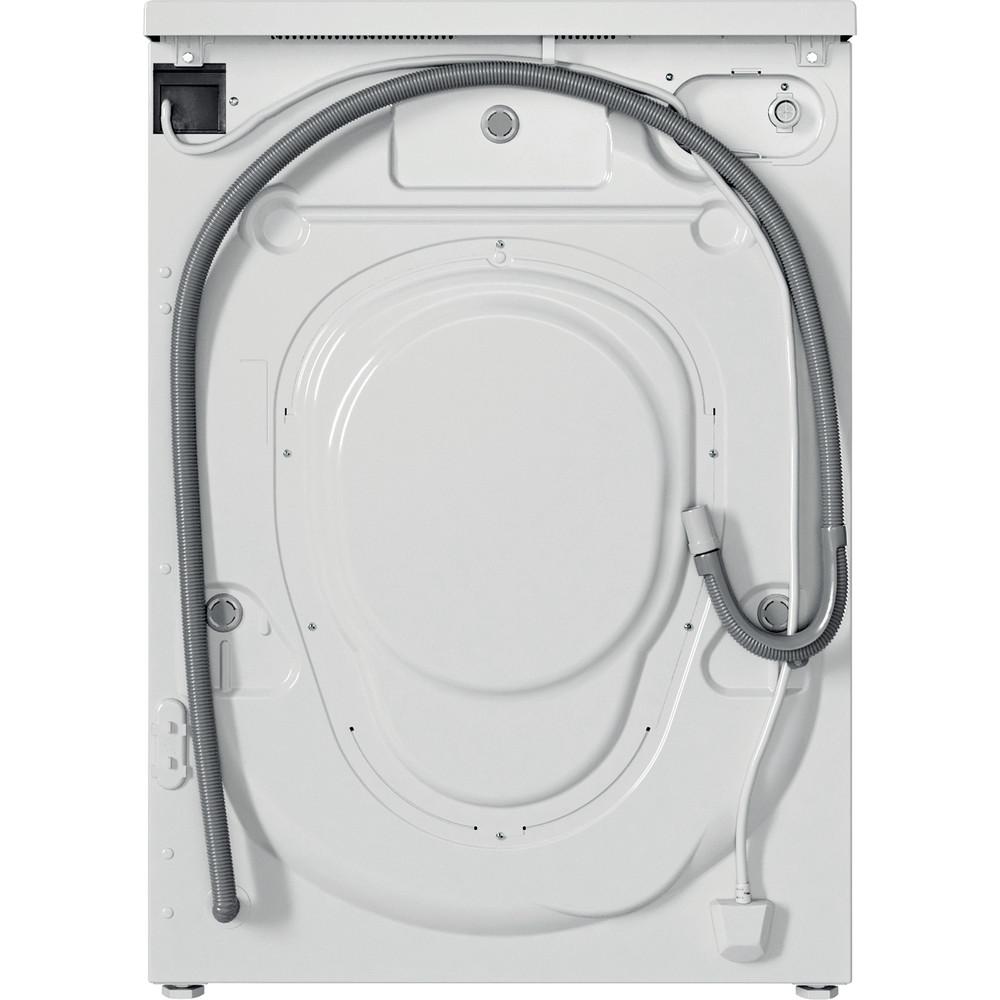 Indesit Washing machine Free-standing EWD 71452 W UK N White Front loader E Back / Lateral