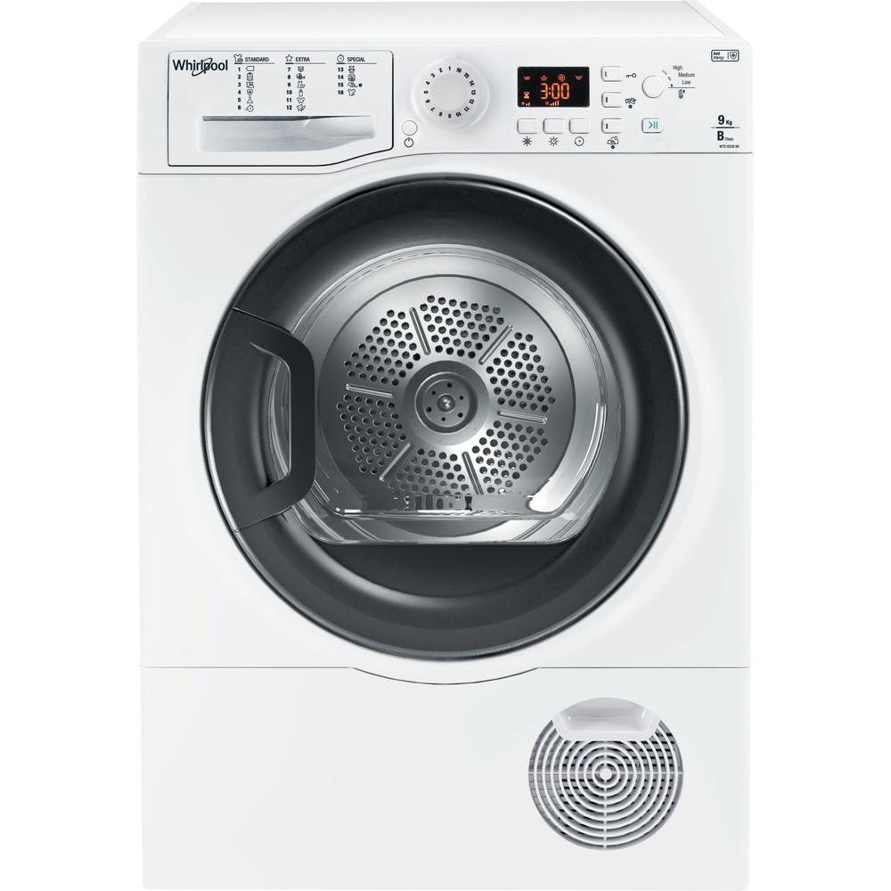 Whirlpool condensdroger: vrijstaand, 9 kg - WTD 950B BK EU