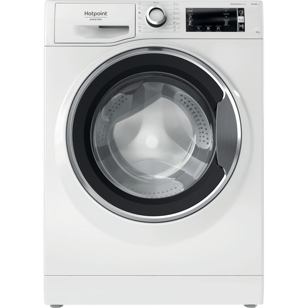 Hotpoint_Ariston Lavabiancheria Libera installazione NLCD 945 WC A EU N Bianco Carica frontale A+++ Frontal