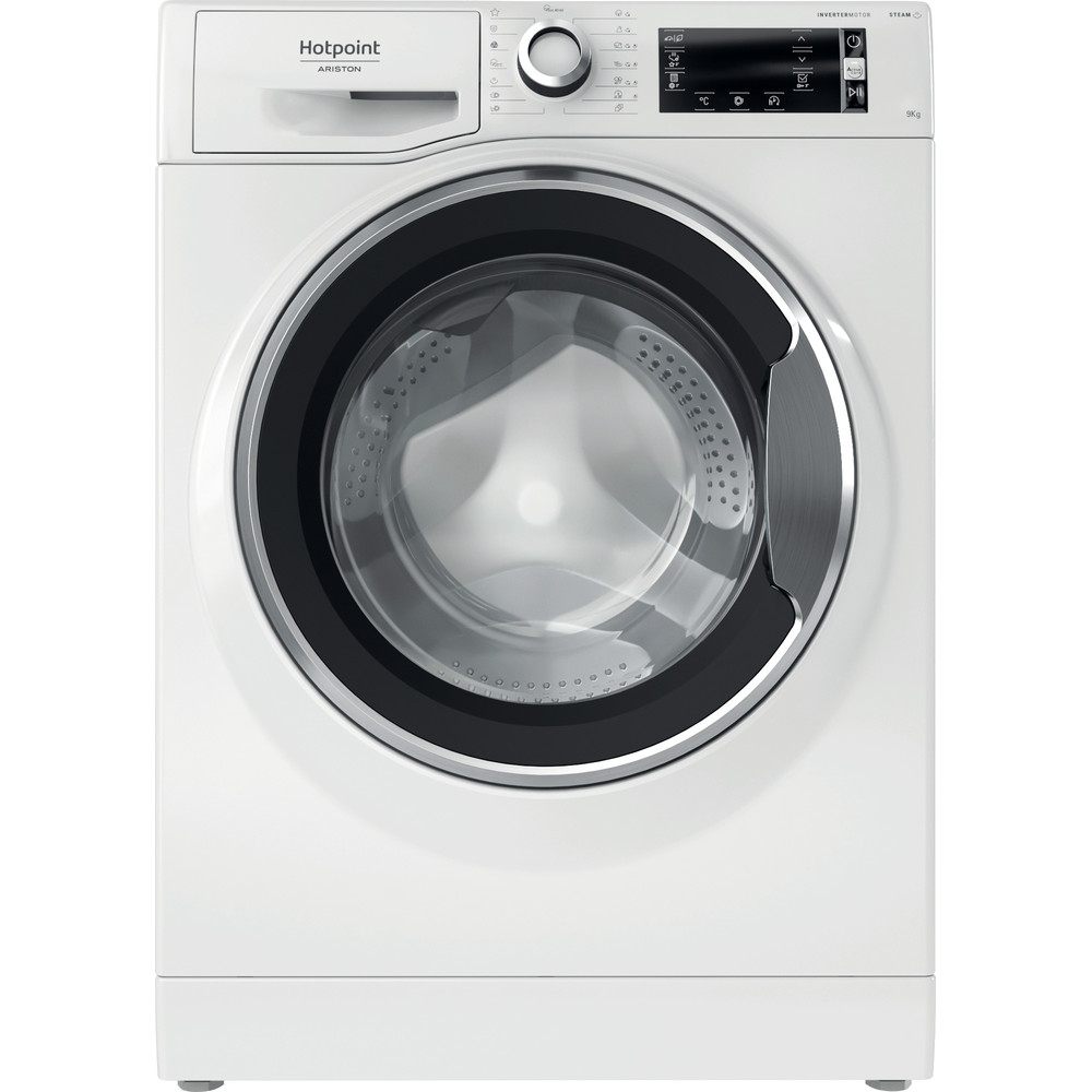 Hotpoint_Ariston Máquina de lavar roupa Livre Instalação NLCD 945 WC A EU N Branco Carga Frontal B Frontal